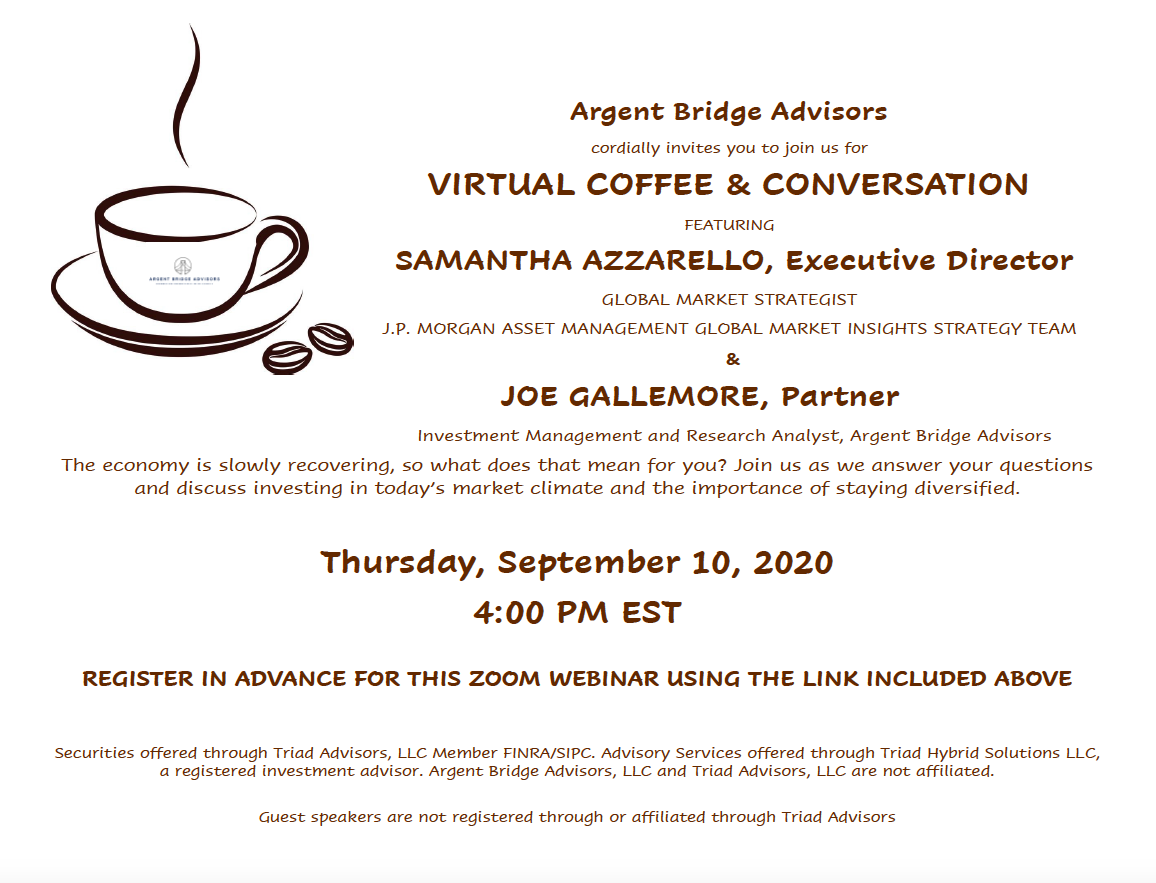 coffee & conversation with samantha azzarello
