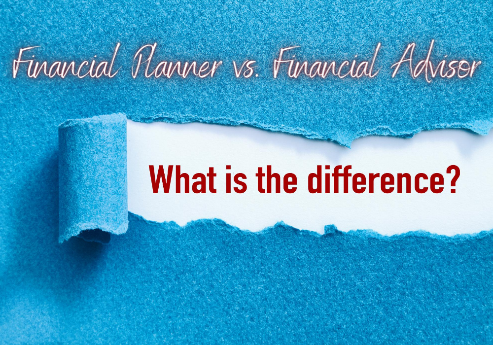financial planner vs financial advisor